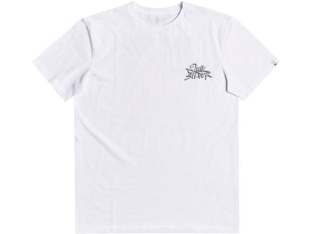 Quiksilver Gold To Glass SS Tee Men, white